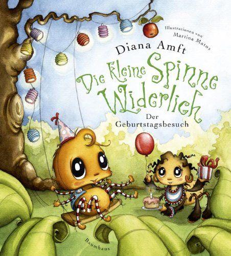 Die kleine Spinne Widerlich - Der Geburtstagsbesuch (Baumhaus Verlag) von Diana Amft http://www.amazon.de/dp/3833900849/ref=cm_sw_r_pi_dp_ViuOwb0GNMBFW