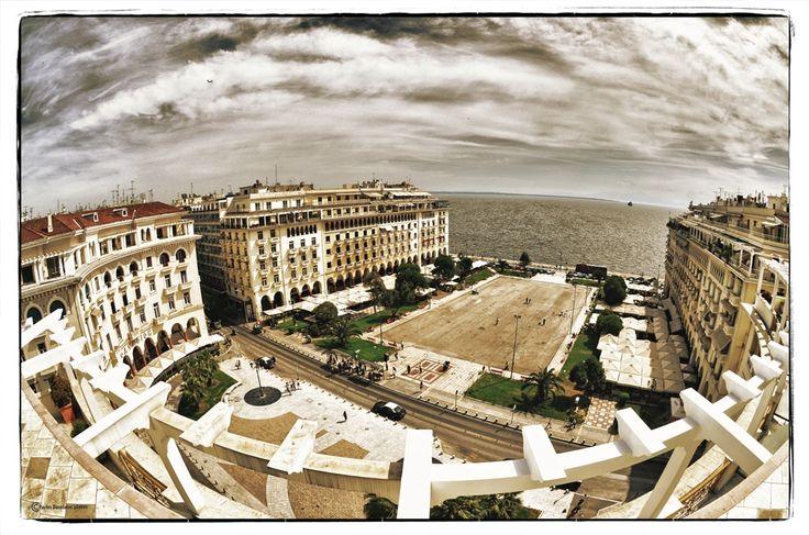 Aristotelous Square - Window to Thermaikos Gulf