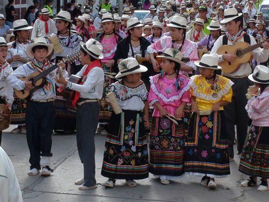 Parranda veleña Santander Colombia Foto