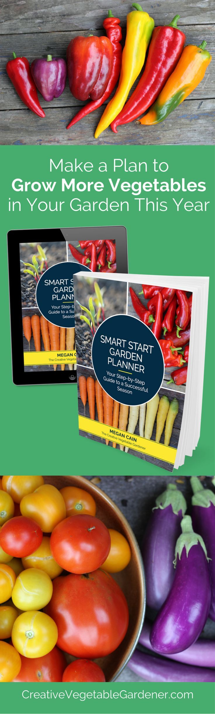 Create an easy and simple plan to get more from your garden this year.