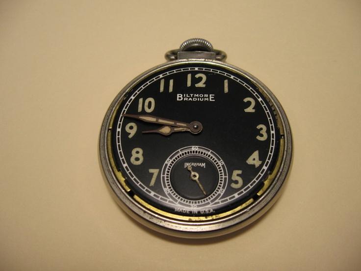 Radium dial watch