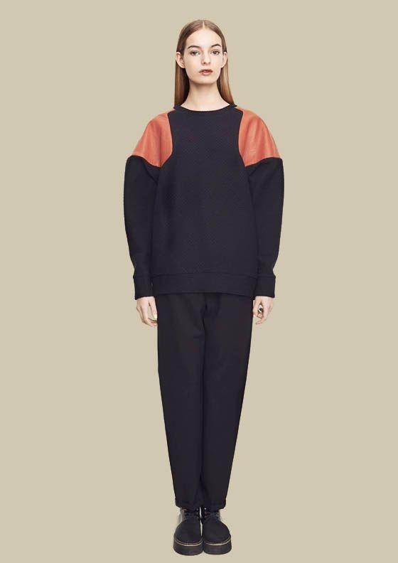 Cecile Sweatshirt by Minka Toeth.