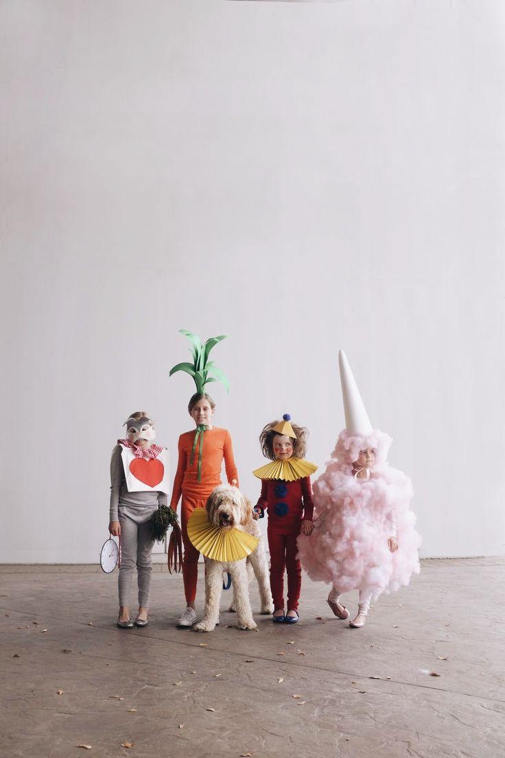 Rabbit, Carrot, Clown, Cotton Candy Costume