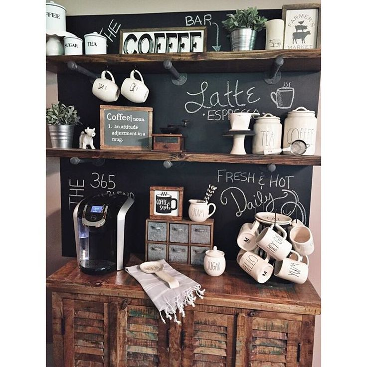 27 Best Coffee Bar Images On Pinterest