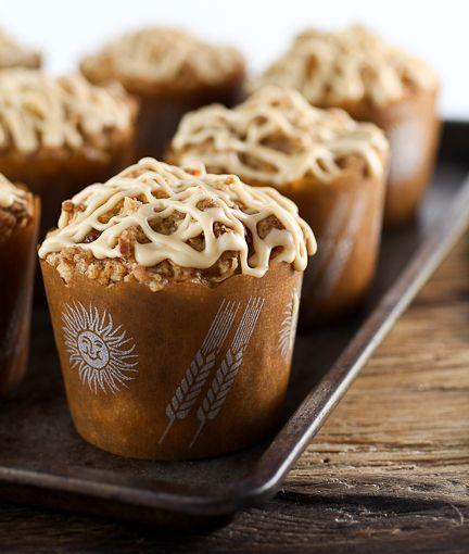 Pineapple Coconut Caramel Muffins | Baking and Cooking Blog - Evil Shenanigans