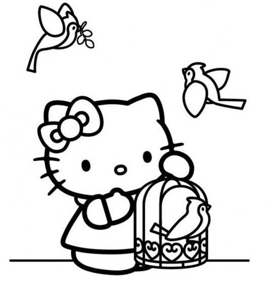 17 Best images about Hello Kitty on Pinterest Coloring