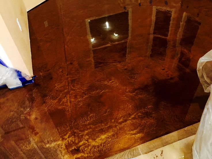 Copper And Browns Metallic Epoxy Metallic Epoxy Flooring