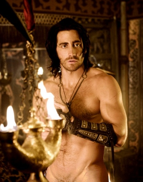 Jake Gyllenhaal as Dastan in Prince Of Persia: The Sands of Time.