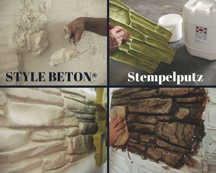 STYLE BETON® Wandgestaltung
