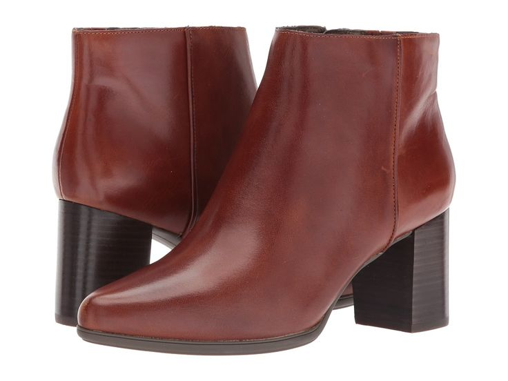 Rockport Total Motion Lynix Bootie Women's Shoes Saddle