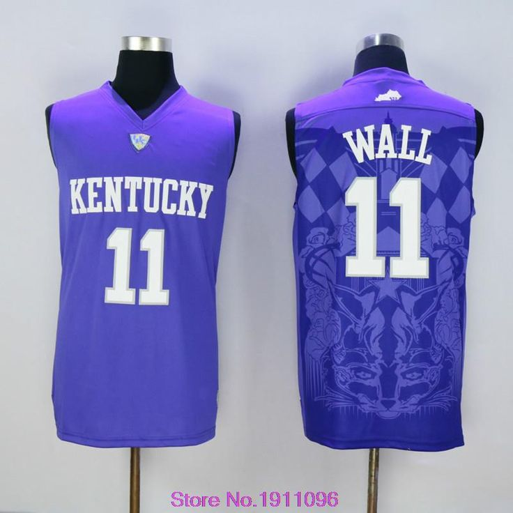 Кентукки вилдкэтс колледж джерси 23 энтони дэвис джерси 4 Rajon рондо 1 Skal Labissiere 11 джон уолл 12 города нкаа баскетбол джерси купить на AliExpress