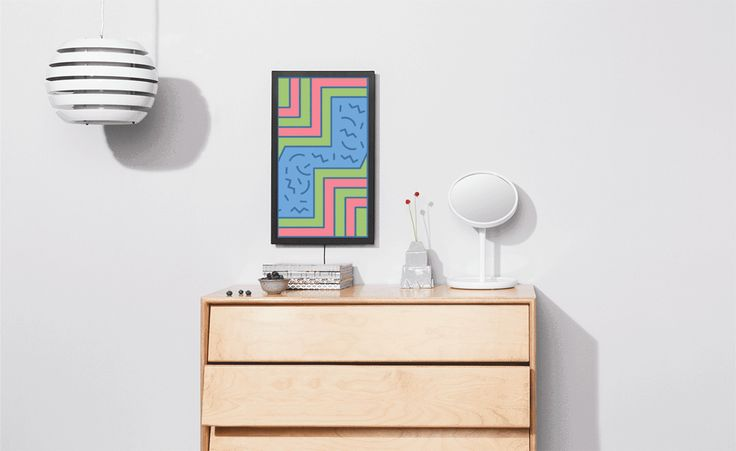 Digital Art Display by Electronic Objects Change your art with the seasons or even just according to your mood with the Digital Art Display by Electronic Objects. Complete with a bold black or white frame and an internet connection, you're able to...
