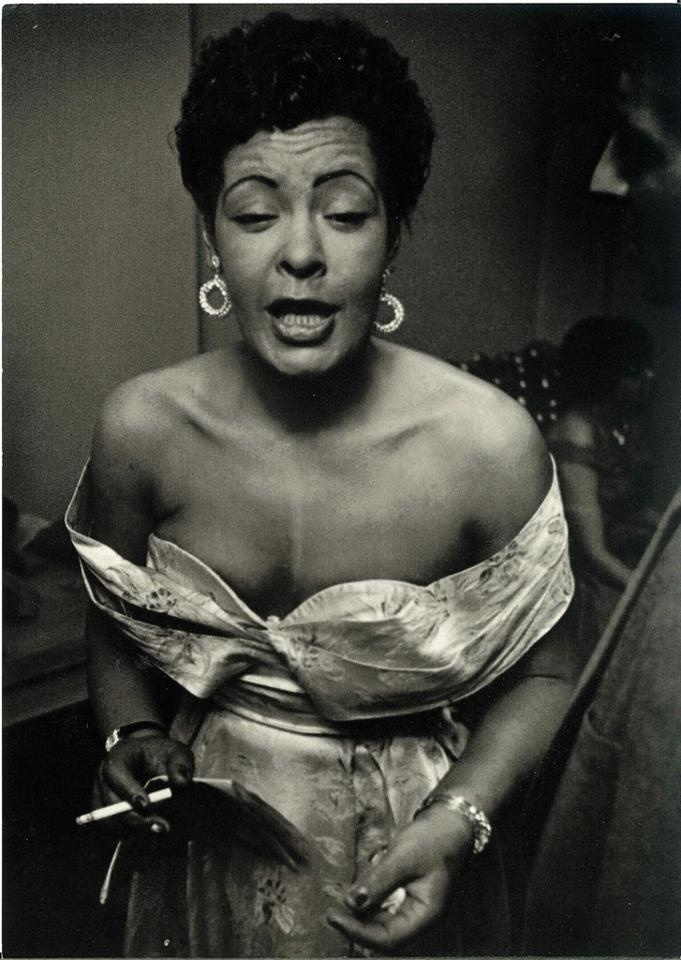 Billie Holiday... Lady sings the blues ...