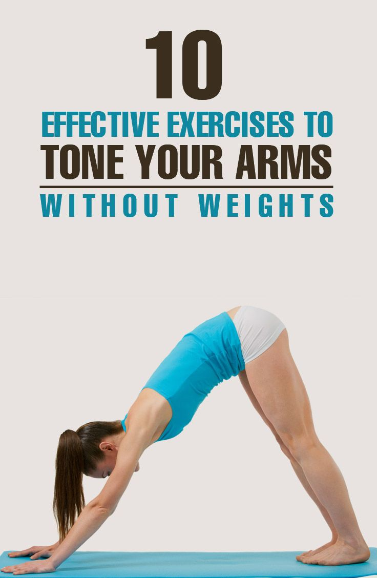 Top 10 Ten Best Arm Exercises Without Weights: