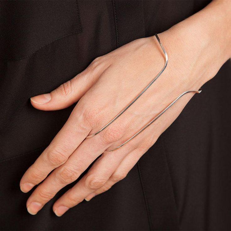 Vibe Harslov silver handbrace.
