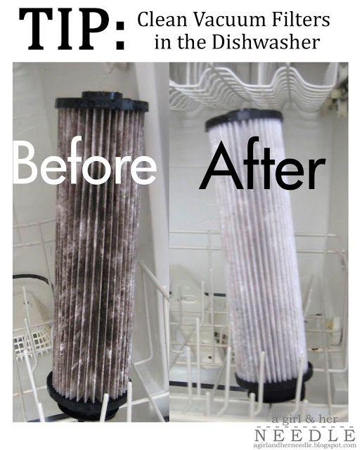 Limpiar el filtro de la aspiradora