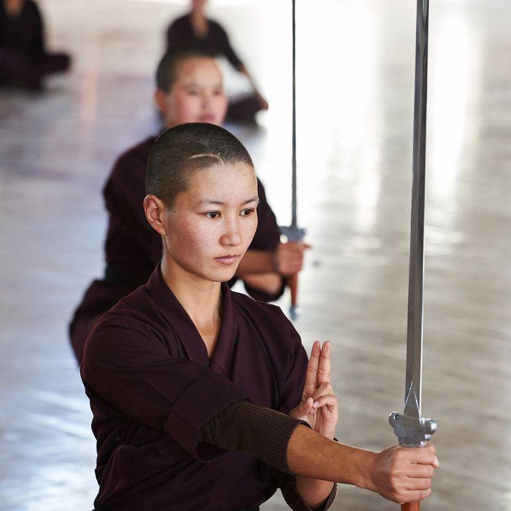 Kung Fu Nuns... woah!