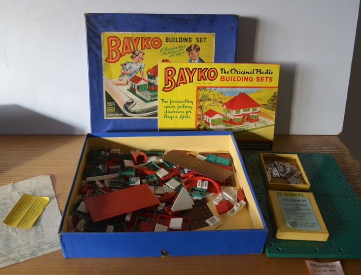 Building Toys From The 60s : Bayko building sets and vintage childrens s