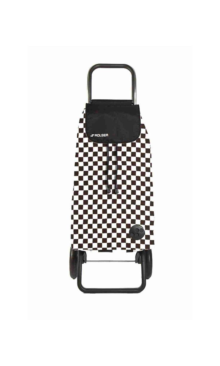 Folding shopping trolley pack f2 la boutique de rolser - Chariot de course ikea ...
