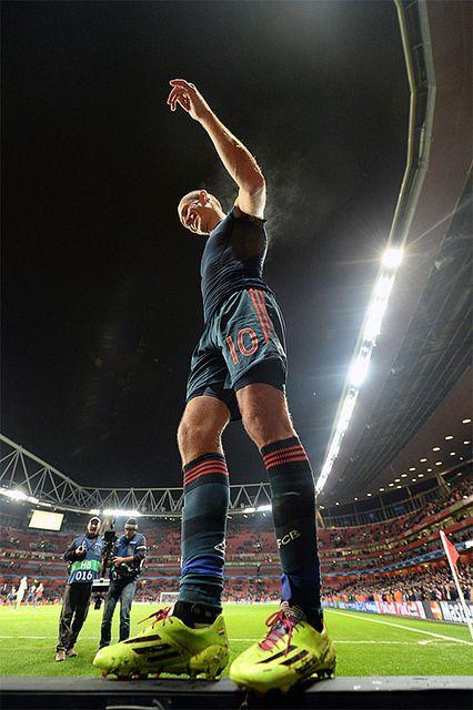 Arjen Robben | Arsenal v Bayern Munich