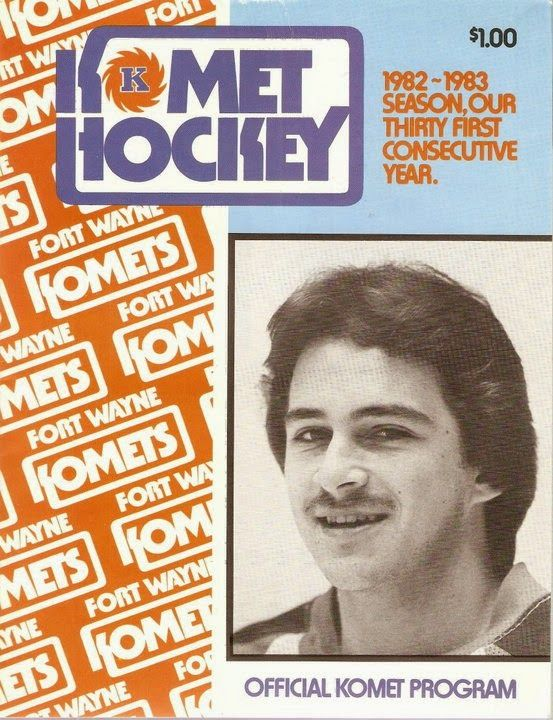 Hockey Programs: Fort Wayne Komets (1982-83, IHL)
