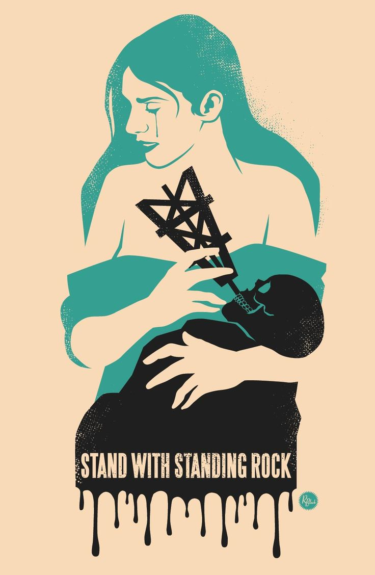 Oil is Death: Stand With Standing Rock