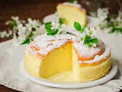 Receta de Japanesse Cheesecake   Festeja a mamá con esta deliciosa e innovadora receta de un cheesecake estilo japonés.