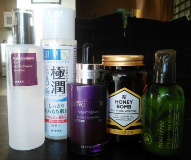 Essences and ampoules. Photo: Jude Chao  How My Elaborate Korean Skincare Routine Helps Me Fight Depression