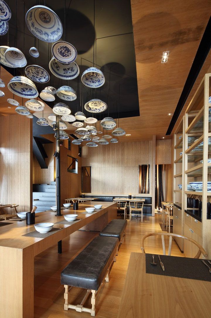 Taiwan Noodle House 2 by Golucci International Design, Beijing store design
