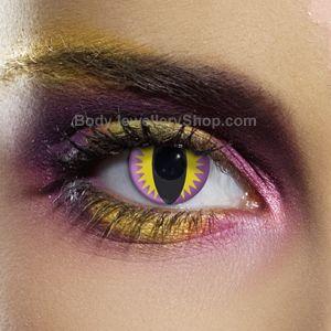 Purple Dragon Contact Lenses (Pair)- Buy Jewellery