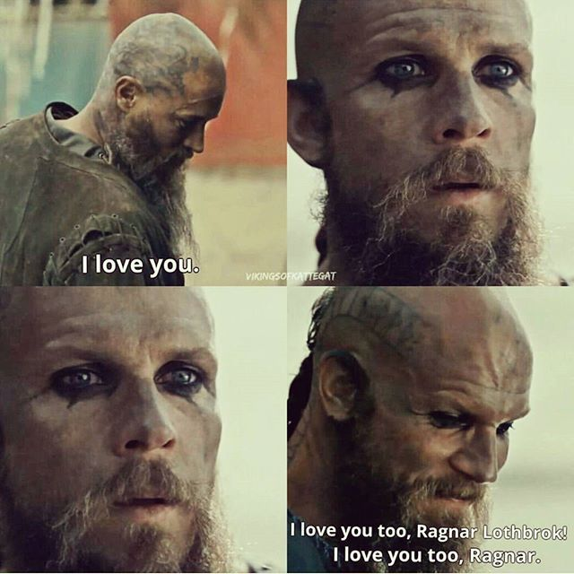 This is all Floki and I have wanted to hear since the beginning!!!