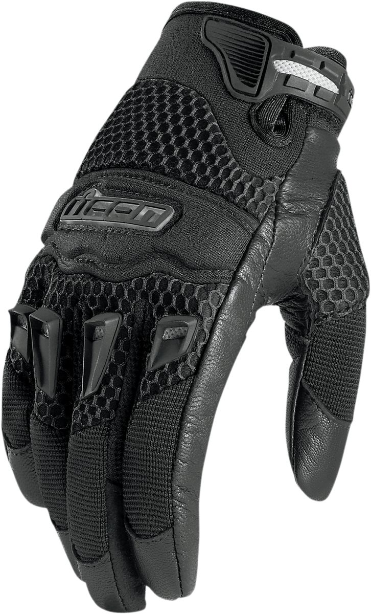 Motorcycle gloves kingston - Twenty Niner Glove Black Products Ride Icon