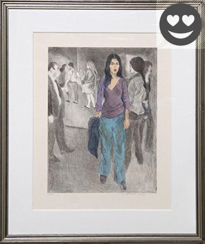 #fineart This is an exemplary work by the artist, it will be a stunning addition to any space. #More Artwork Details: Artist: Raphael Soyer, Russian/American (18...