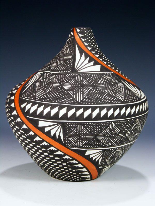 Acoma Pueblo Pottery-