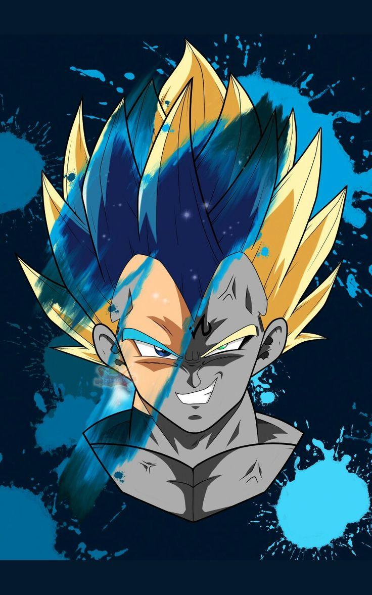 Vegeta Dragon ball artwork, Dragon ball super manga