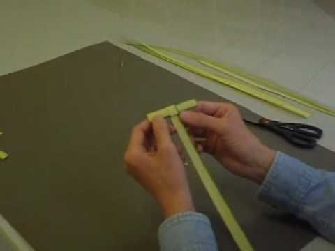 how to make a palm cross for palm sunday