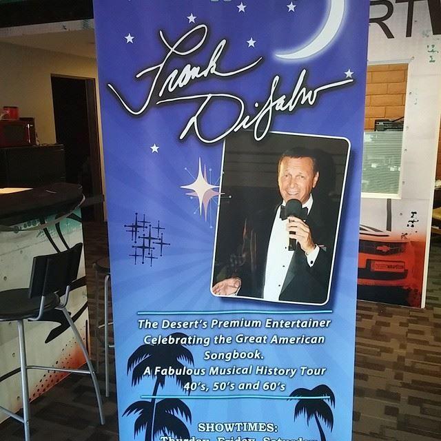 Custom design retractable banner. Contact DesertWraps.com at 760-935-3600. Servicing Palm Springs, Cathedral City, Rancho Mirage, Palm Desert, La Quinta, Indian Wells, Indio, Coachella Valley.