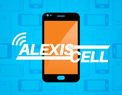 """Check out new work on my @Behance portfolio: """"Logo Alexis Cell"""" http://be.net/gallery/43978729/Logo-Alexis-Cell"""