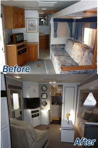 Rustic Rv Interior Remodeling Design Hacks Ideas 100