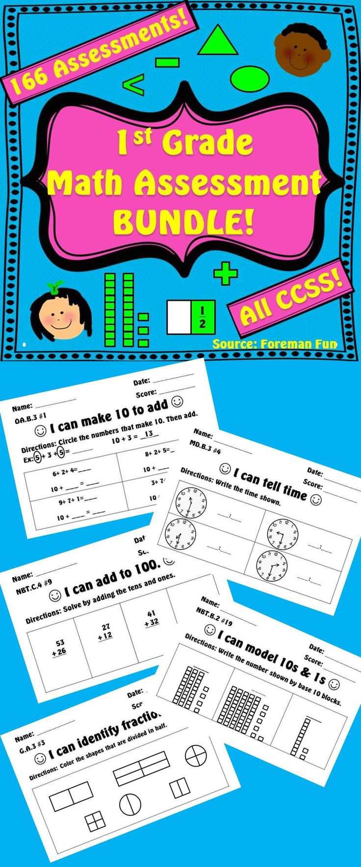 47 best TPT- Foreman Fun images on Pinterest | Grade 3, Classroom ...