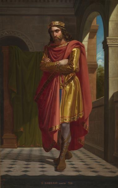 Mariano de la Roca, Don Rodrigo, rey godo.