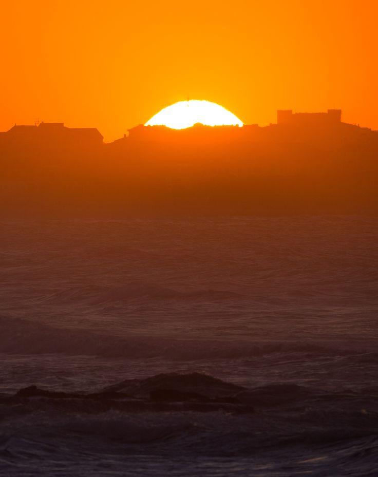 Sunset in Portugal. #MocheRipCurlPro
