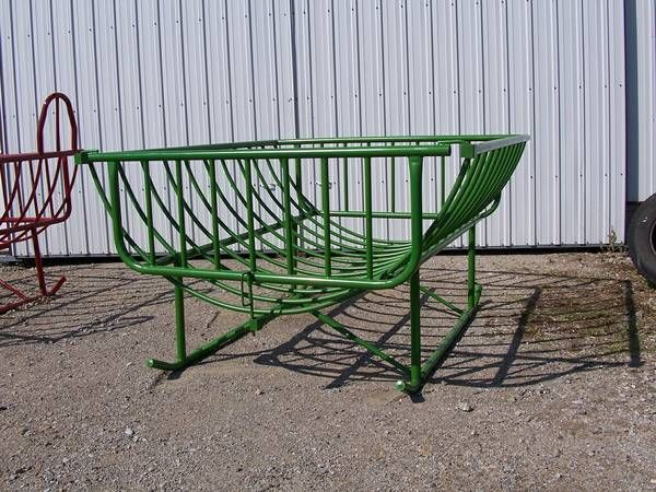 Round Bale Feeder For Sheep Goats , Horses, Lowline cattle - $450 Nora Springs IA