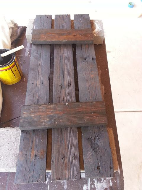 pallet wood turned shutters.... Just Add Some Java.blogspot