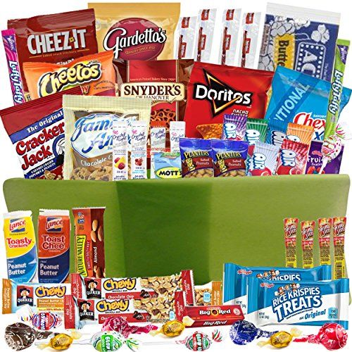 1114 best healthy food gift baskets images on pinterest food care package gift baskets with 54 sweet and salty snacks for college students gifts military appreciation negle Images