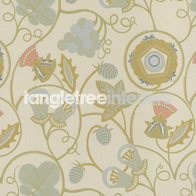 Gentlemans Cap wallpaper from Neisha Crosland - WV8GENT-01 - Meadow Yellow