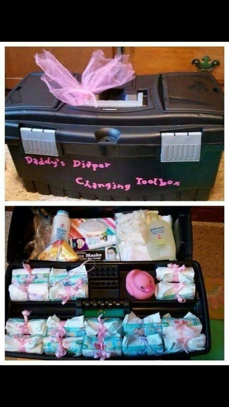 This is a cute idea for a gift at a baby shower for the Daddy to be.