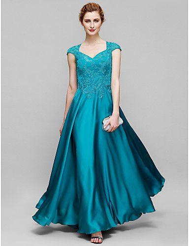 Vestido de Madrina Tul Largo Verde Jade @ Vestidos de Fiesta Baratos Blog