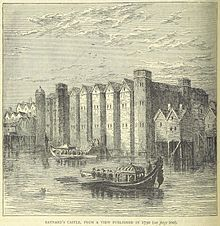 Baynard Castle was destroyed i the Great Fire of London (1666).