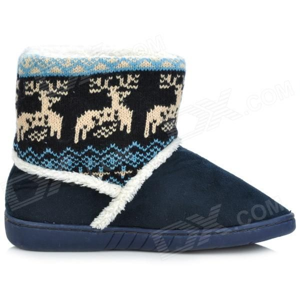 Fawn Warm Women's Snow Boots - Ming Blue ( Size 37)